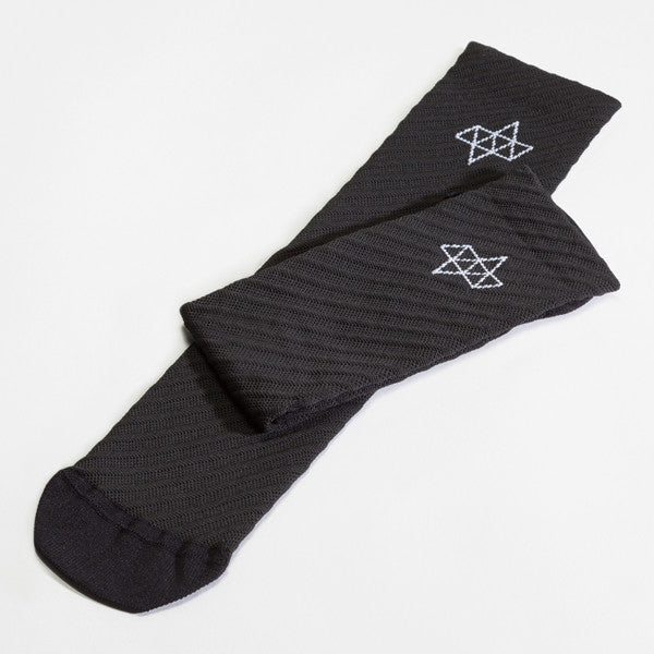ACHT SUPPLY - CUSPIDE SOCKS BLACK