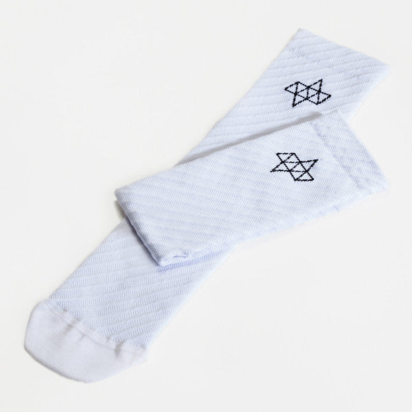 ACHT SUPPLY - CUSPIDE SOCKS WHITE