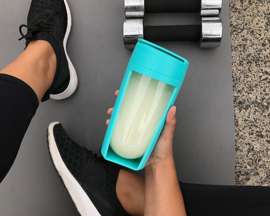 MOUS FITNESS Shaker Bottle Teal
