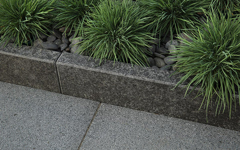 Arctic Granite Garden Edging