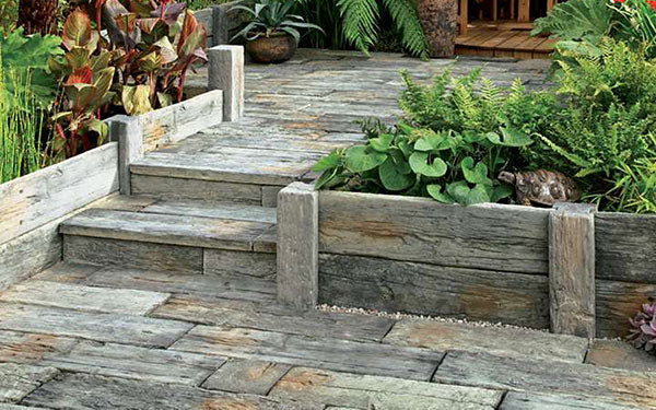 Timberstone Posts and Sleepers for Planters / Raised Beds