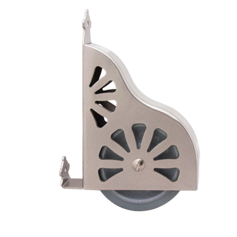 Rolling Ladder Bottom Wheel Assembly