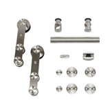 European Style Strap Stainless Steel Barn Door Hardware Kit