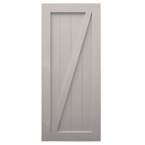 Grey Pre-Assembled Barn Door