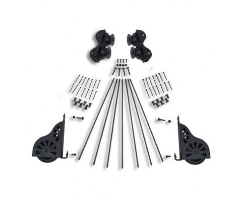 Rolling Ladder Hardware Kit W/Standard Wheels