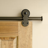 Bronze - Bronze Barnum Single - Barn Door Hardware Kit