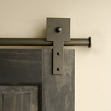 Bronze - Bronze Shakespeare Double - Rolling Door Hardware Kit