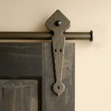 Bronze - Bronze Lannister Double - Rolling Door Hardware Kit