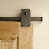 Bronze - Bronze Plato Single - Barn Door Hardware Kit