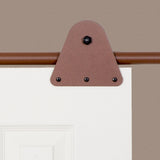 Rust - Garfield New Age Rust Single - Barn Door Hardware Kit