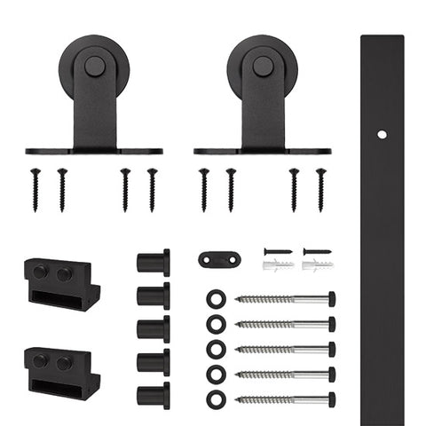 Black Top Mount Flat Rail Kit