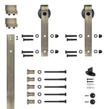Flat Track Single Door Kits - Multiple Finishes Available