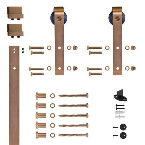 Single Door Flat Rail Hook Strap