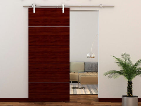 ... European Style Strap Stainless Steel Barn Door Hardware Kit ...