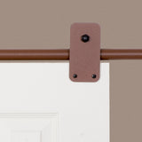 Rust - Plato New Age Rust Single - Barn Door Hardware Kit