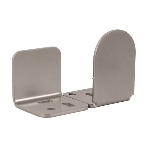 Dome Barn Door Guides, Satin Nickel