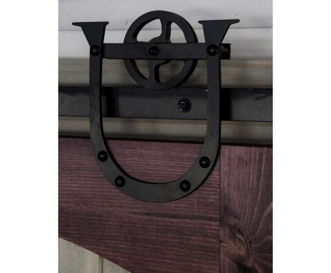 Superieur ... Heavy Duty Horseshoe Barn Door Hardware Kit ...