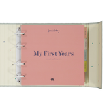 My First Years - memories & treasures (Blue album)