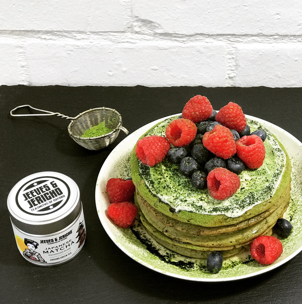 Recipe for Matcha Pancakes