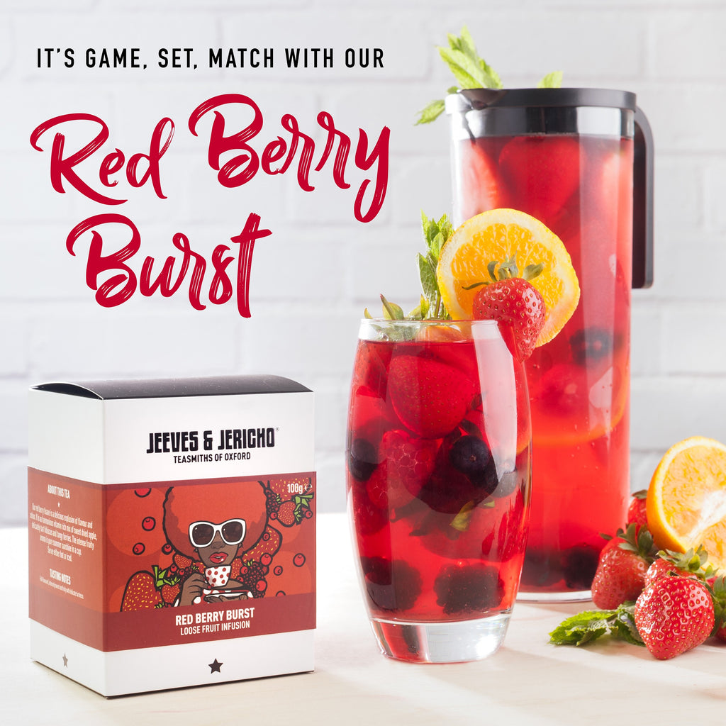 Red Berry Burst Summer Fizz