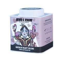 QUEEN OF HEARTS TEA CADDY