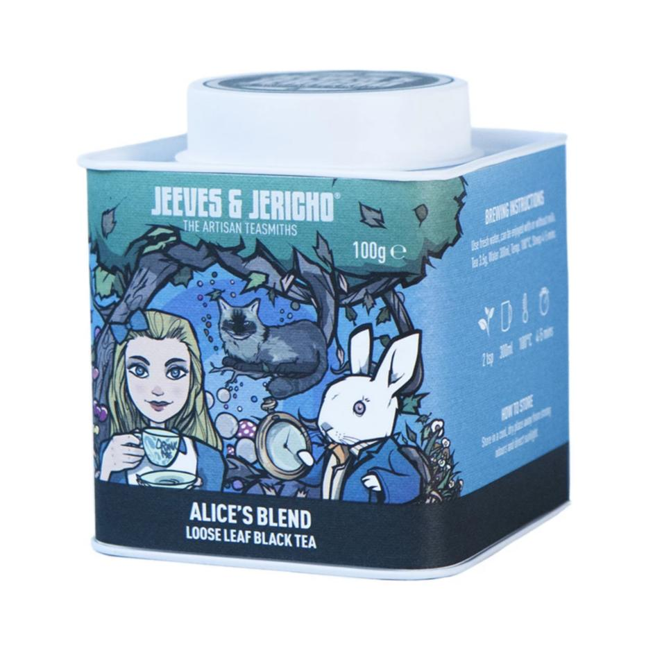 ALICE'S BLEND TEA CADDY