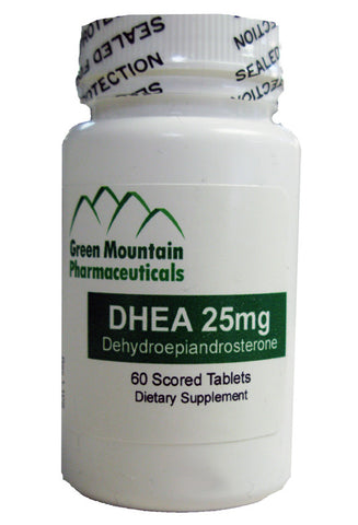DHEA 25mg - PLEASE CALL OUR OFFICE FOR INFO 303-343-3121 ext. 3