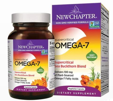 Supercritical Omega-7 Sea Buckthorn Blend  - 30 vegetarian capsules