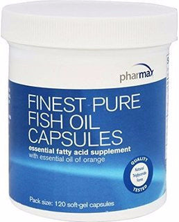 Finest Pure Fish Oil - 120 softgels