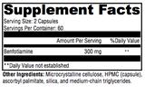 Ultra Benfotiamine - CLICK FOR ORDERING INSTRUCTIONS