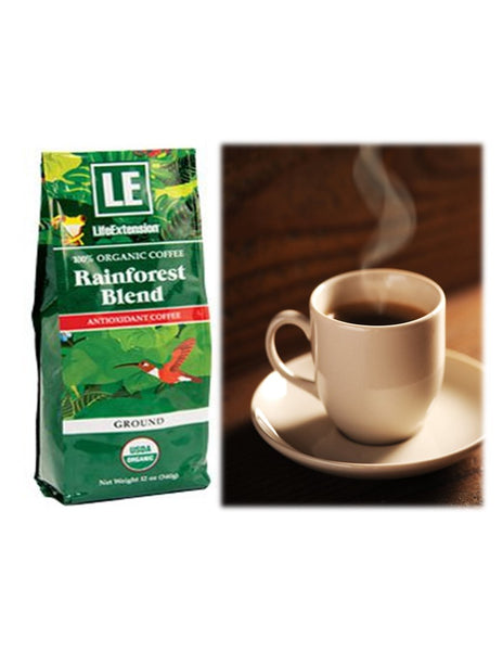 Rainforest Blend Ground Antioxidant Coffee