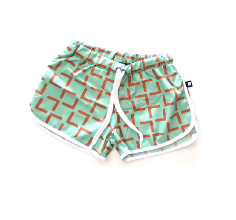 Geometric Swim Trunk