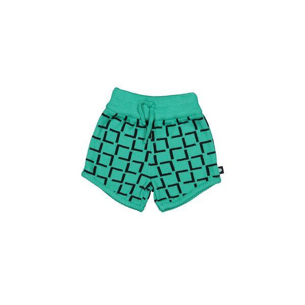 Geometric Knitted Shorts