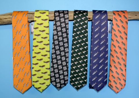 Barry Beaux Handmade Colorful Neckties