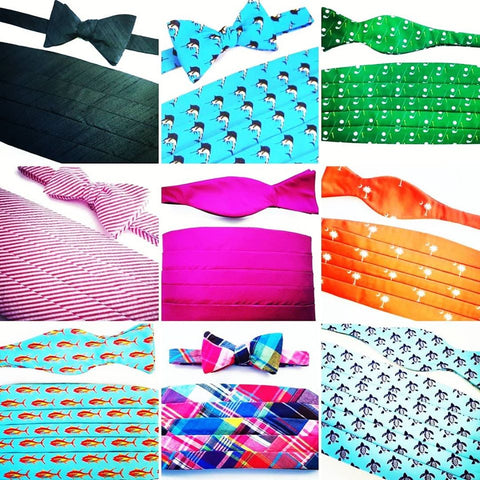 Barry Beaux Handmade Bow Tie And Cummerbund Sets