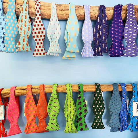 Barry Beaux Handmade Colorful Bow Ties