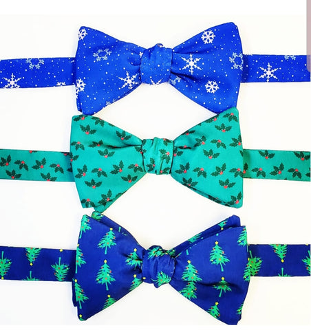 Christmas Holiday Bow Ties