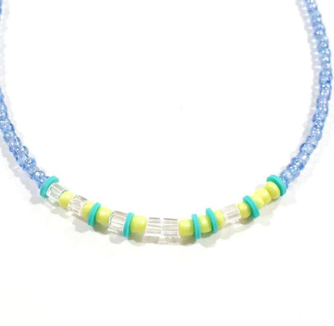 """Capers"" Morse Code Necklace"