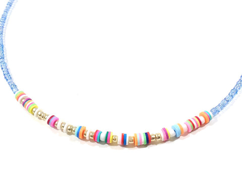 """Mount Pleasant"" Morse Code Necklace"
