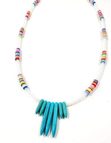 Twin Shem Necklace