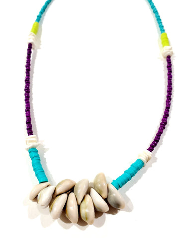 Twin Shem Shell Necklace