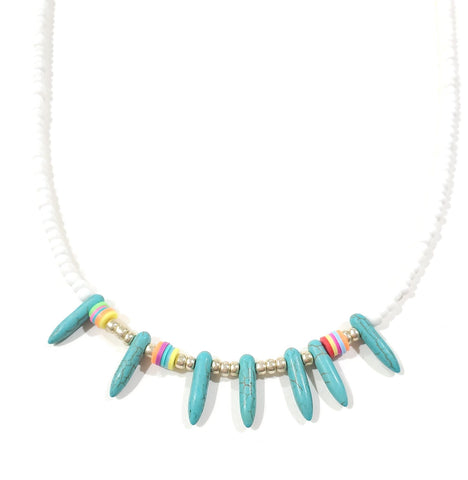 """Blessed"" Morse Code Necklace"