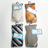 sale necktie and pocket square gift sets