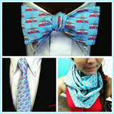 adpac bow tie necktie and infinity scarf