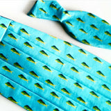 Mahi Mahi Fish Bow Tie And Cummerbund Set