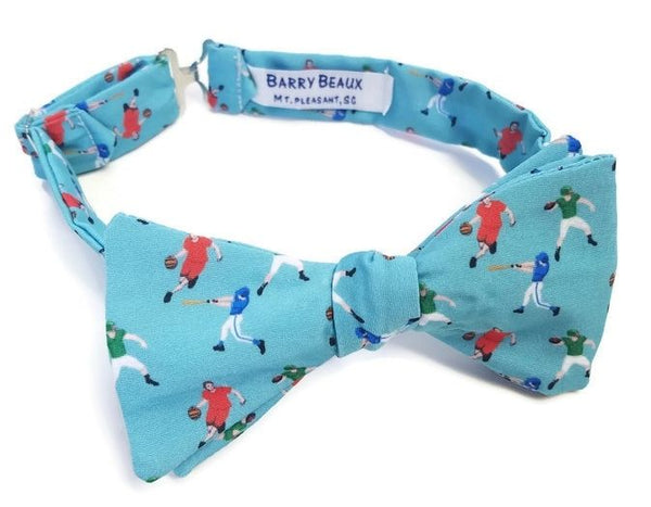 Athlete Sports Blue Bow Tie Football Basketball Baseball Player