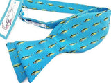 Blue Yellowfin Tuna Bow Tie