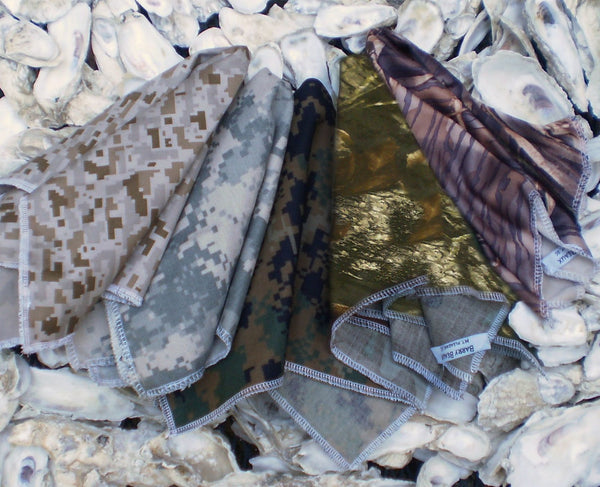 Camouflage Pocket Squares
