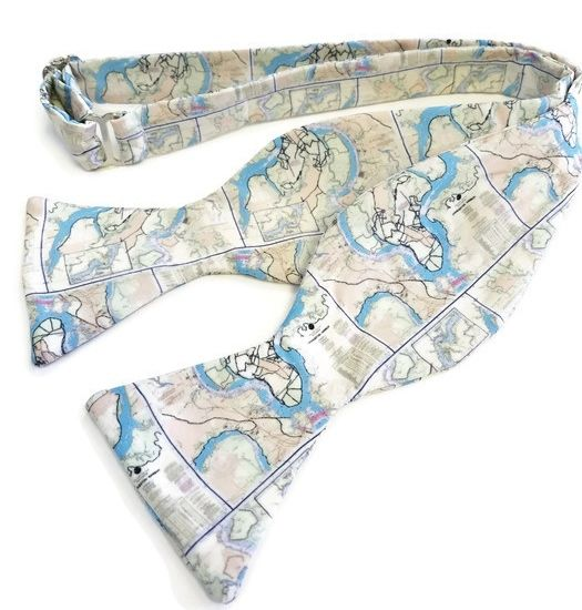 Daniel Island South Carolina Map Bow Tie
