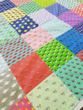 Barry Beaux Handmade Cotton Baby Quilt Featuring Coastal Designs